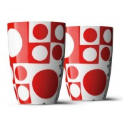 2 tasses Panton rouges