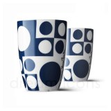 2 tasses Panton bleu nuit