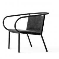 Chaise lounge afteroom noire