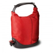 Baggy winecoat rouge